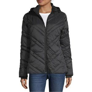 ☄EUC☄ Xersion Black Puffer Coat SMALL